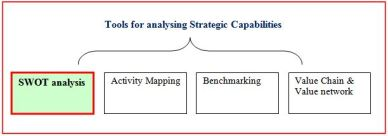 Tools for analysing strategic capability
